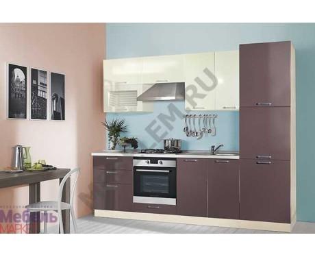 Модульная кухня Шанталь 2 Кофе