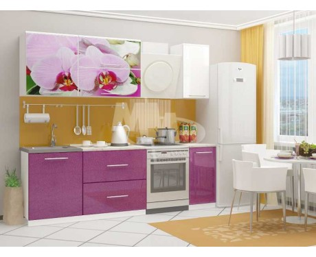 Кухня Орхидея-2 1800 фотопечать