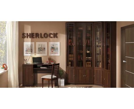 Модульная библиотека Sherlock (орех шоколадный)
