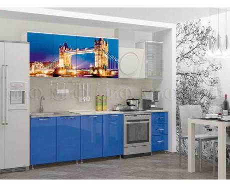 Кухня Лондон-1 2000 мм фотопечать