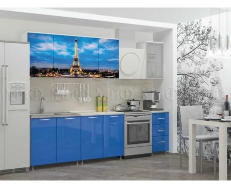 Кухня Париж 2000 мм фотопечать