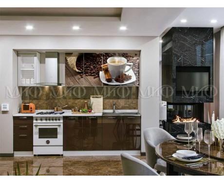 Кухня Кофе 2000 мм фотопечать