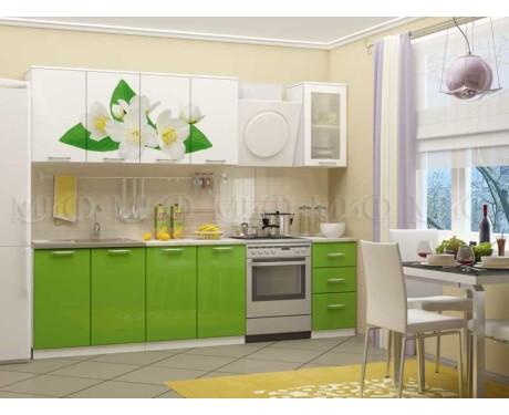 Кухня Жасмин 2000 мм фотопечать