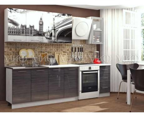 Кухня Биг Бен 2000 мм фотопечать