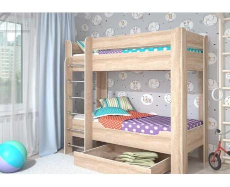 Детская 2-х ярусная кровать Мийа-4