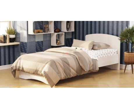 Кровать-2 с фигурной спинкой
