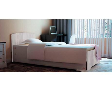 Кровать-3 с фигурной спинкой