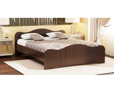 Кровать-5 с 2-мя фигурными спинками