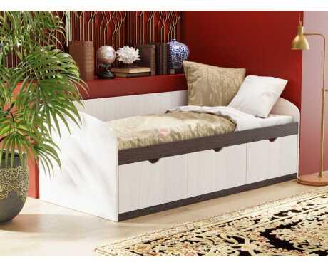 Кровать-8 с 3-мя ящиками 800*1900 мм