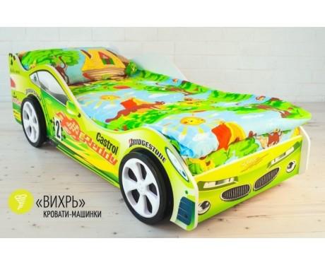 Детская кровать-машина Вихрь