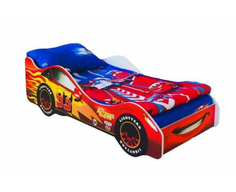 Детская кровать-машина Тачка красная
