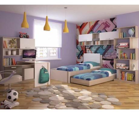 Модульная молодёжная мебель Walker