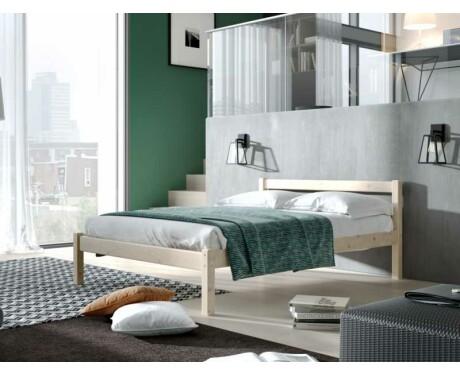 Кровать из массива Рино