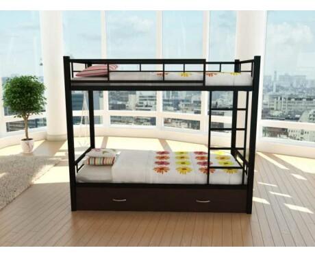 Металлическая двухъярусная кровать Венеция Я