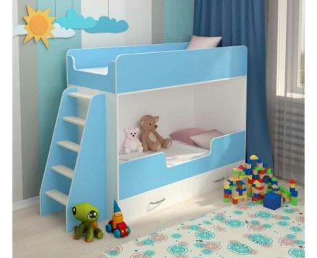 Двухъярусная кровать Небо