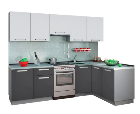 Кухня Симпл Угловая 1500*2700 мм