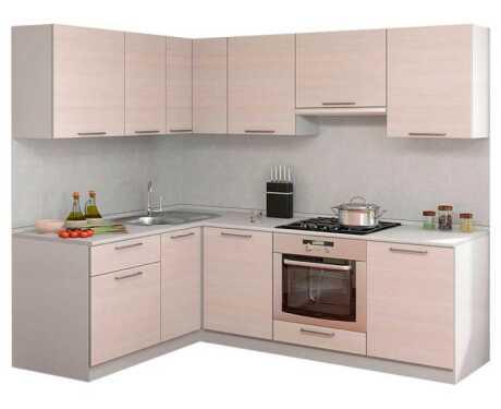 Кухня Симпл прямой угол 1600*2200 мм