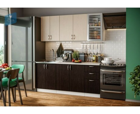 Кухня Контемп ЭКМ 1,8 м Комфорт (Виола Нео)