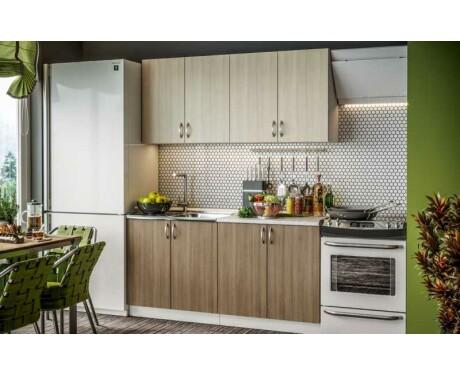Кухня Контемп ЭКМ 1,6 м Комфорт (Виола Нео)