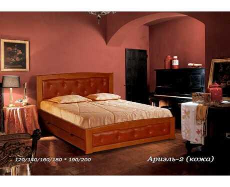 Кровать Ариэль 2 кожа