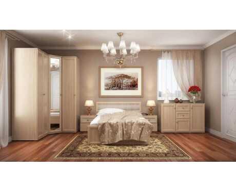 Спальня Милана (дуб кантори, венге)