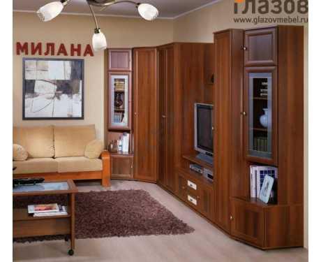 Модульная серия корпусной мебели Милана (композиция 3)