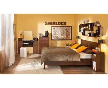 Мебель для спальни Sherlock (орех шоколадный) (композиция 1)