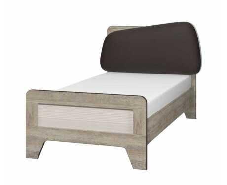 Кровать с мягким элементом 900 с настилом ИД 01.265