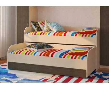 Кровать 2-х уровневая
