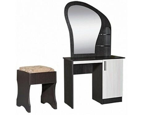 Стол макияжный с банкеткой и ящиком Светлана