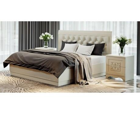 Двуспальная кровать Саванна СМ-234.01.01