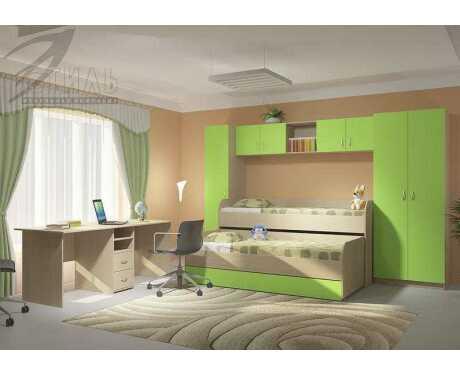 Модульная детская мебель Мийа 2 (композиция 1)