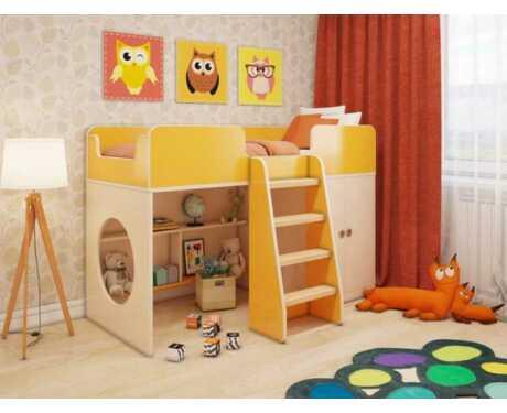 Игровая кровать Апельсин