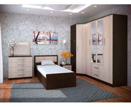 Модульная мебель для спальни Фиеста (композиция 2)