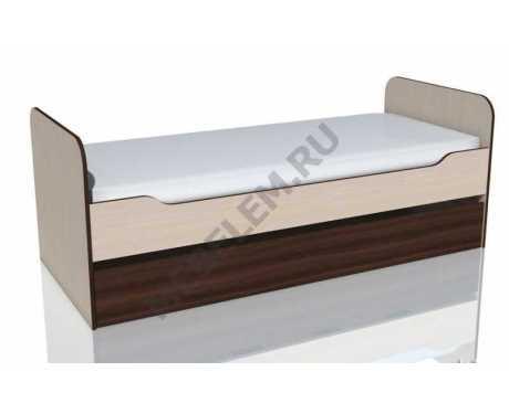 НМ 014.43.00 Кровать выкатная (дуб тортона)