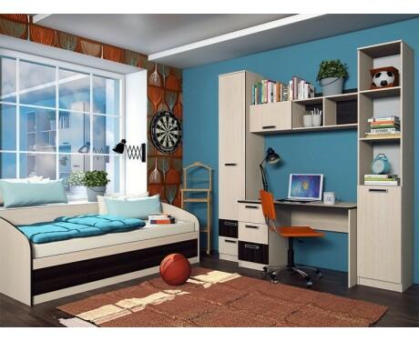 Детская мебель Рико (цвет дуб тортона) (композиция 1)