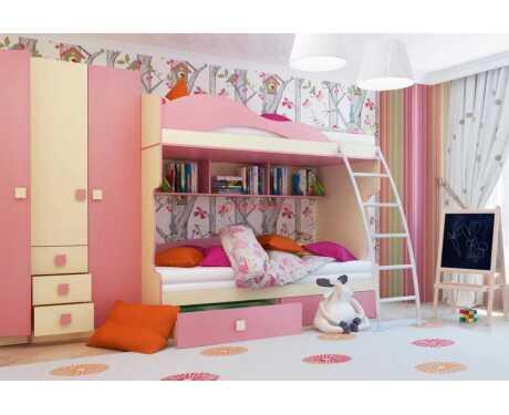 Мебель для детской Радуга (композиция 2)