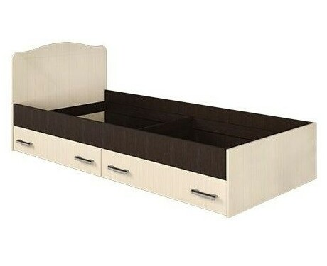 Кровать с ящиками 900 Светлана + основание