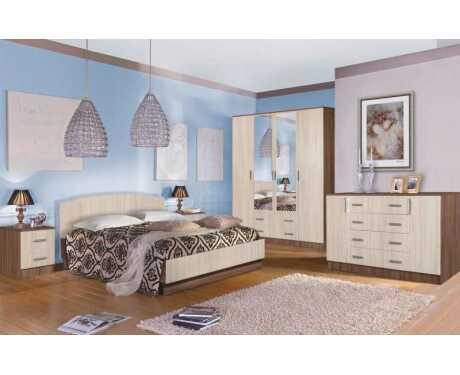 Модульная спальня Светлана (композиция 1)