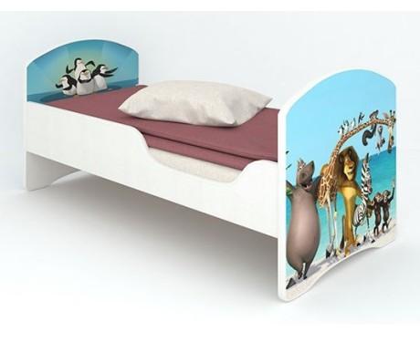 Кроватка детская Мадагаскар без ящиков