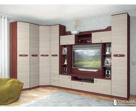 Модульная мебель для гостиной Рива (композиция 1)
