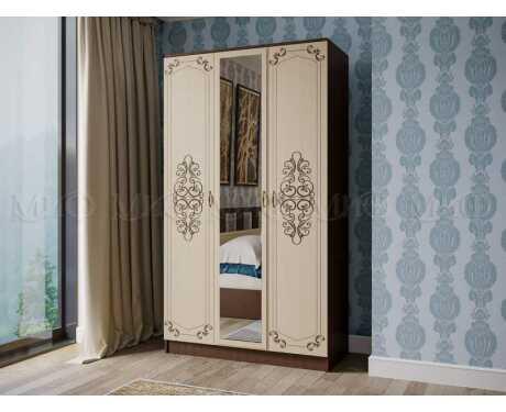 Шкаф 3-х дверный Жасмин