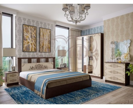 Модульная спальня Жасмин (композиция 1)