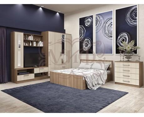 Модульная мебель для спальни Фиеста (композиция 4)