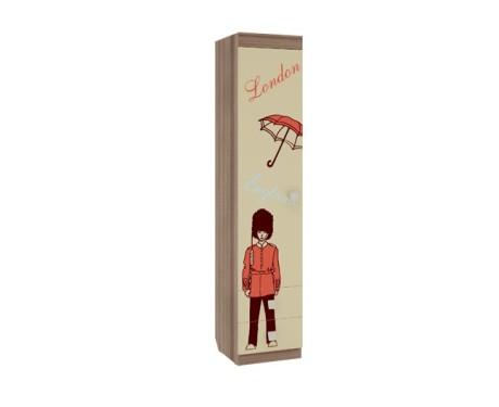 Шкаф комбинированный Челси (с ящ. 1-створчатый)