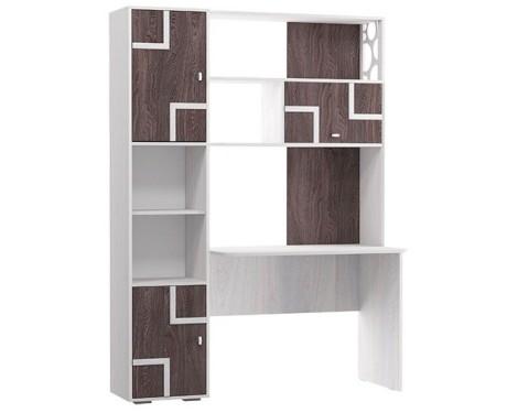 омега 16 стол письменный с надстройкой фант мебель купить в
