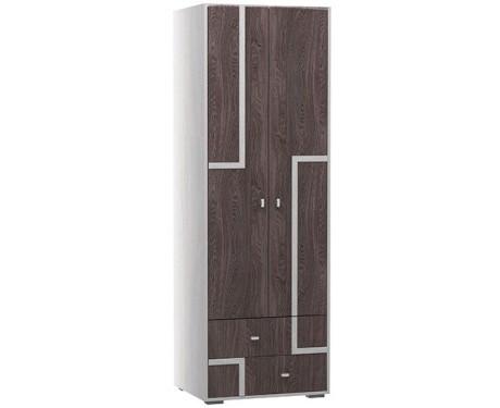 Омега-16 Шкаф 2-х дверный для одежды (штанга)