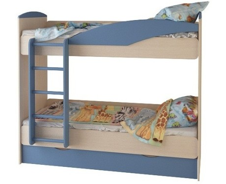 Кровать 2-х ярусная с ящ. (700*1860) №23
