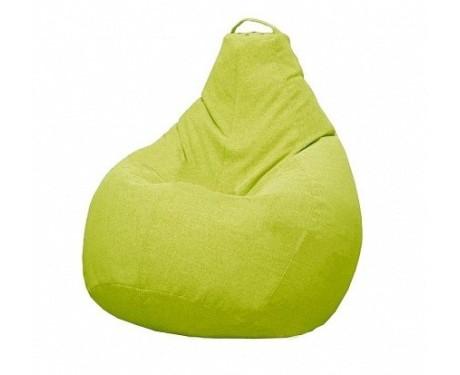 Кресло-мешок Купер M-Рогожка NEO, зеленый