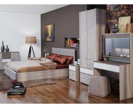 Модульная мебель для спальни Элен (композиция 1)
